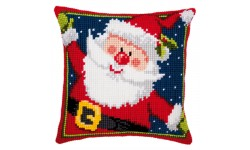 Father Christmas Large Holed Tapestry Kit