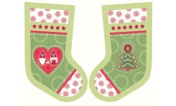 Hygge Stockings Green - Lewis and Irene