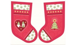 Hygge Stockings Red - Lewis and Irene
